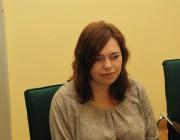 Korb Angéla, a Neue Zeitung munkatársa, a VUdAK tagja