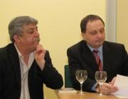 Nagy Gusztáv és Koloman Brenner költők