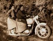 Archív kép kategória győztes - Szabó Bernadett: Mammerok motoron