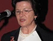 Bisserka Benisheva nagykövet asszony ünnepi beszédét mondja