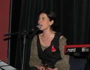Hadzsikosztova a koncerten