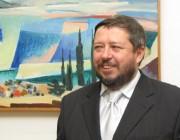 Sokcsevics Dénes megnyitja a kiállítást