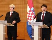 Ivo Josipovic és Áder János