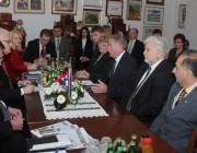 Ivo Josipović horvát államelnök a pécsi August Senoa Horvat Klubban