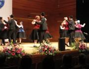 A Véméndi Tánccsoport a színpadon