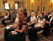 Balog Zoltán miniszter ünnepi köszöntőjét mondja