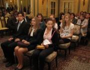 A diákok az ország minden részéből, Pécsről, Bajáról, Budapestről, Békéscsabáról, Gyuláról, Sopronból érkeztek