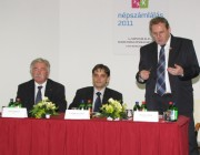 Hepp Mihály, Dr. Latorcai Csaba és Paulik Antal