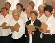 A Vaskúti Vegyeskar német nemzetiségű dalokat adott elő a Nemzetiségek Házában megrendezett kiállításon