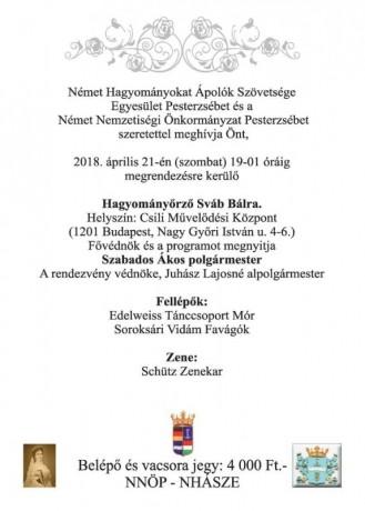 2018 sváb bál meghívó 2