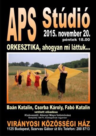 APS Stúdió Orkesztika,ahogy mi láttuk..