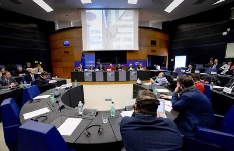 FUEN-Delegation_im_Europäischen_Parlament