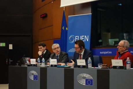 FUEN-Delegation_im_Europäischen_Parlament_2