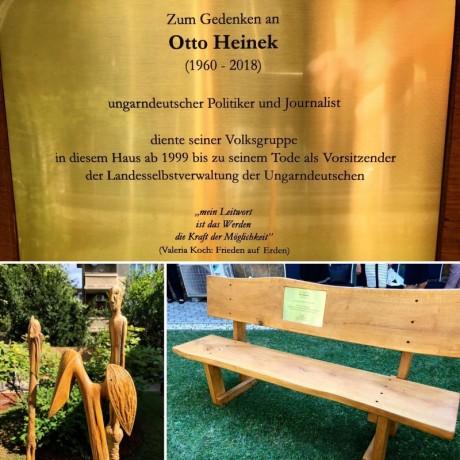 Heinek Ottó emlékhely