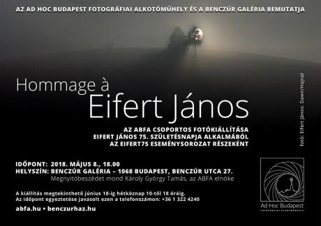 Hommage á Eifert János_meghivo web