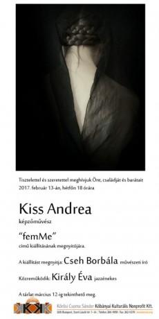 Kiss Andrea meghívó