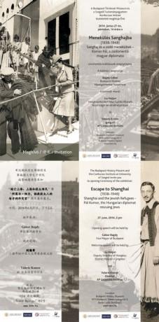 Menekülés Sanghajba online