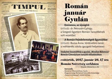 Roman januar Gyulan - plakat