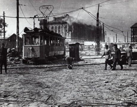 Romos Boráros tér Elevátor 1944-45