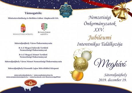 nemzetiségi meghívó
